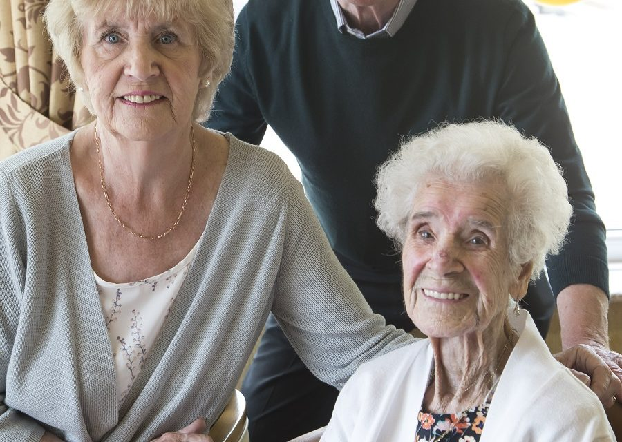 The secret to a long life? A daily bacon butty, according to 104 year old Mary!