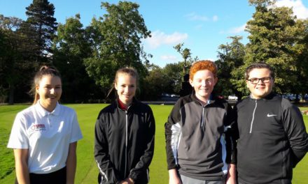 Ramside awards scholarships to gifted young golfers