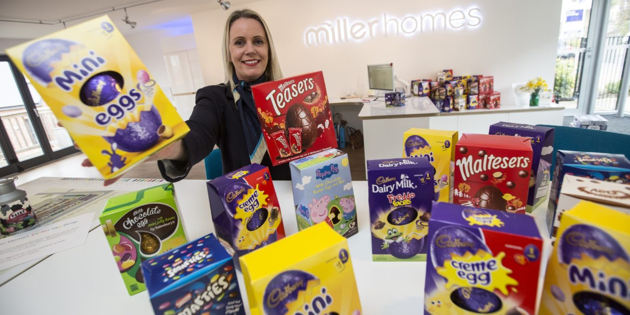 Leading Housebuilder Helps to Spread Easter Cheer