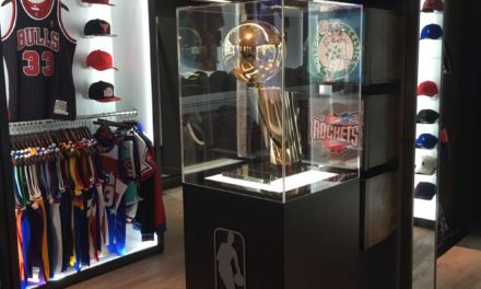 The NBA Champions Trophy visits the North East for the first time