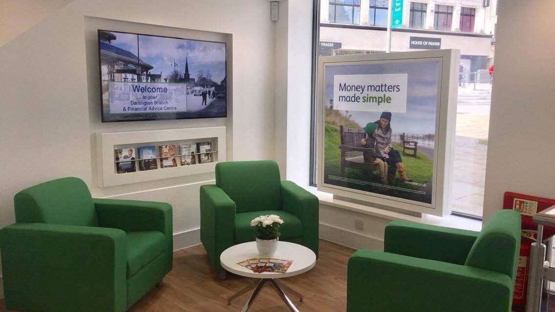 North East Contractors Complete Work on New Newcastle Building Society Darlington Branch