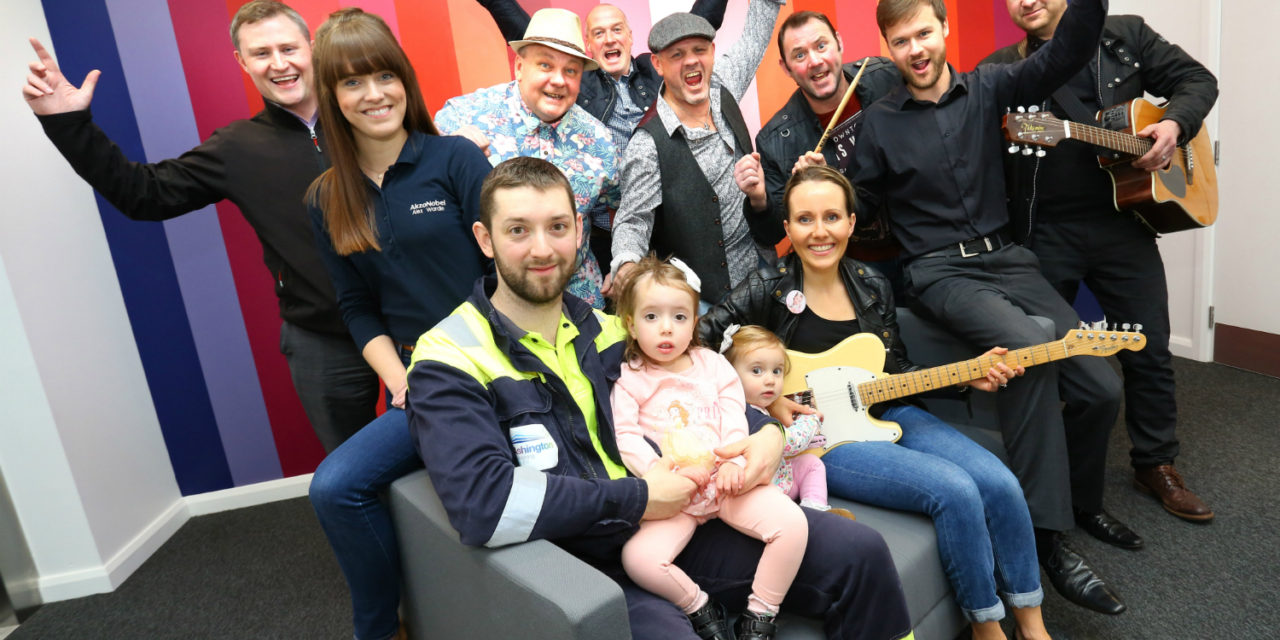 AkzoNobel 'super band' helps raise thousands for local charity