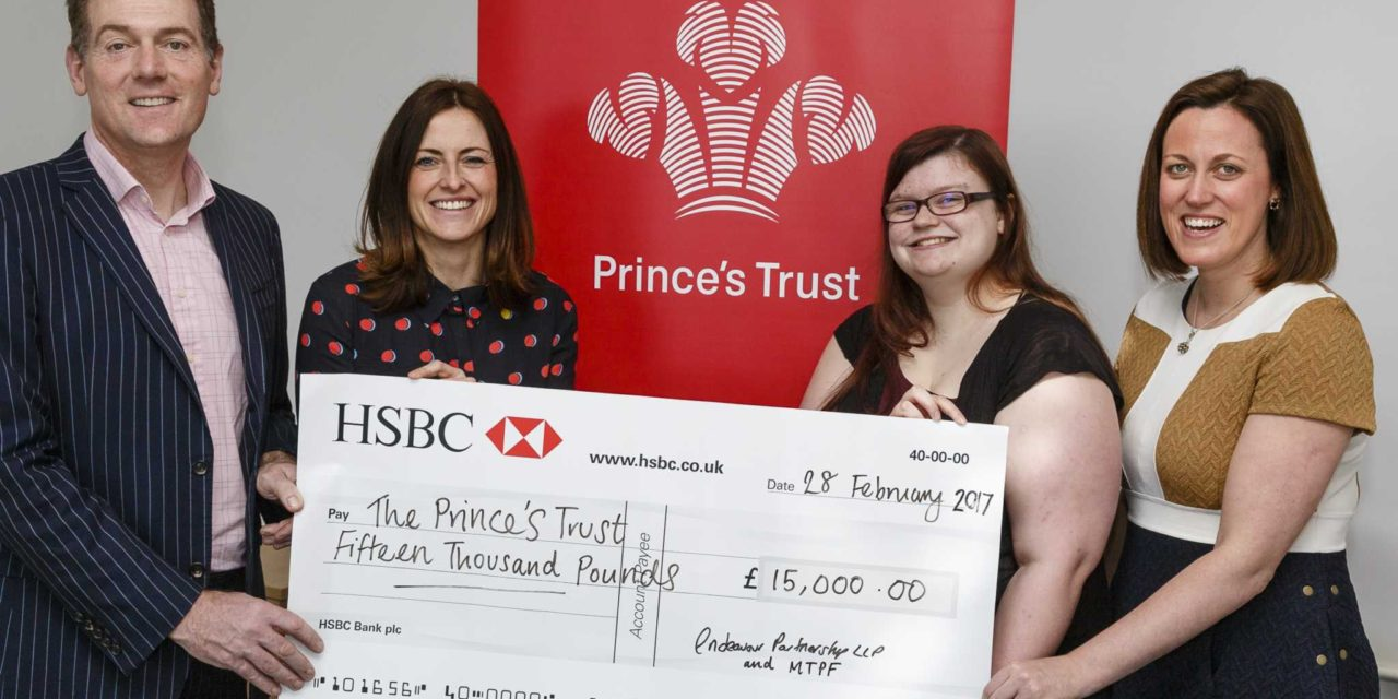 Endeavour reaches fundraising total for Teesside charity