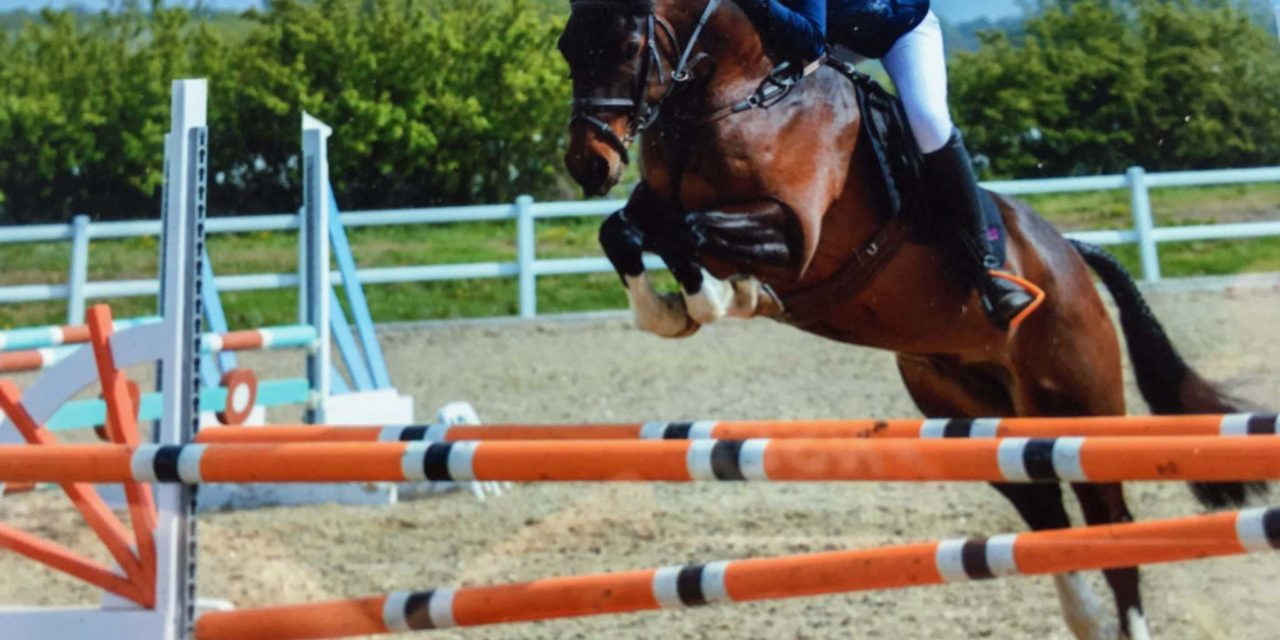 Riders Jump For Joy After Equestrian Success North East