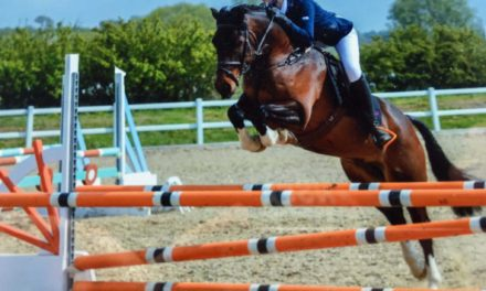 Riders jump for joy after equestrian success