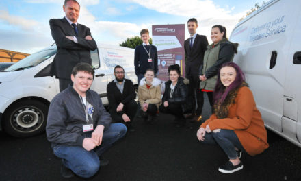 Partnership delivers milestone apprentice