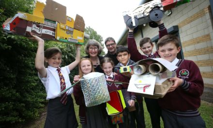 Steel fund and businesses back pupils in Scrapheap Challenge