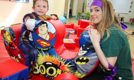 School children prove to be super heroes