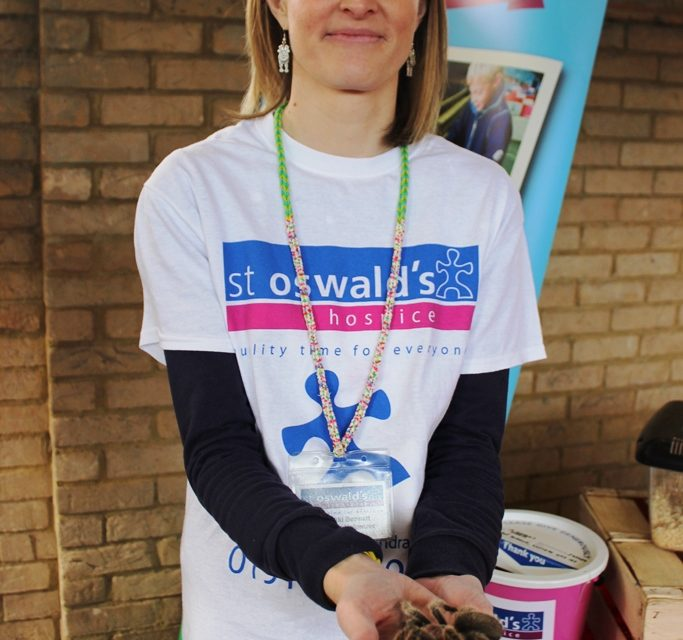St Oswald's volunteer completes 40 challenges to mark her 40th