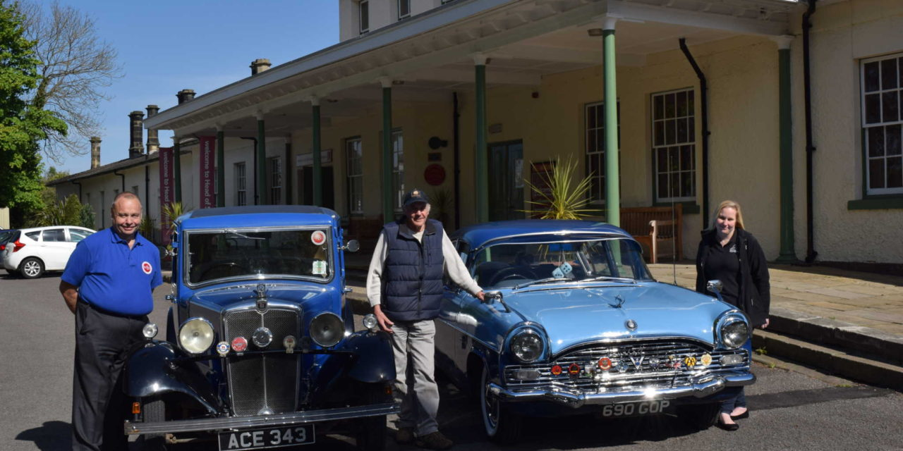 All aboard for the Vintage Vehicle Rally