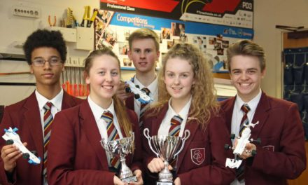 Formula One students are first to 100 per cent in global competition