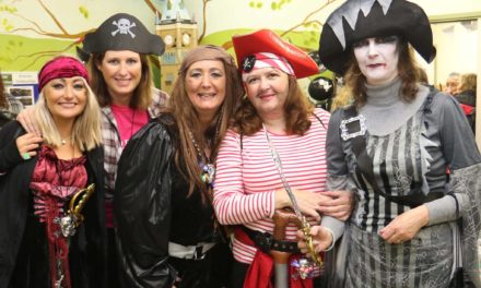 Charity pirates brave a dark and stormy night to remember loved ones
