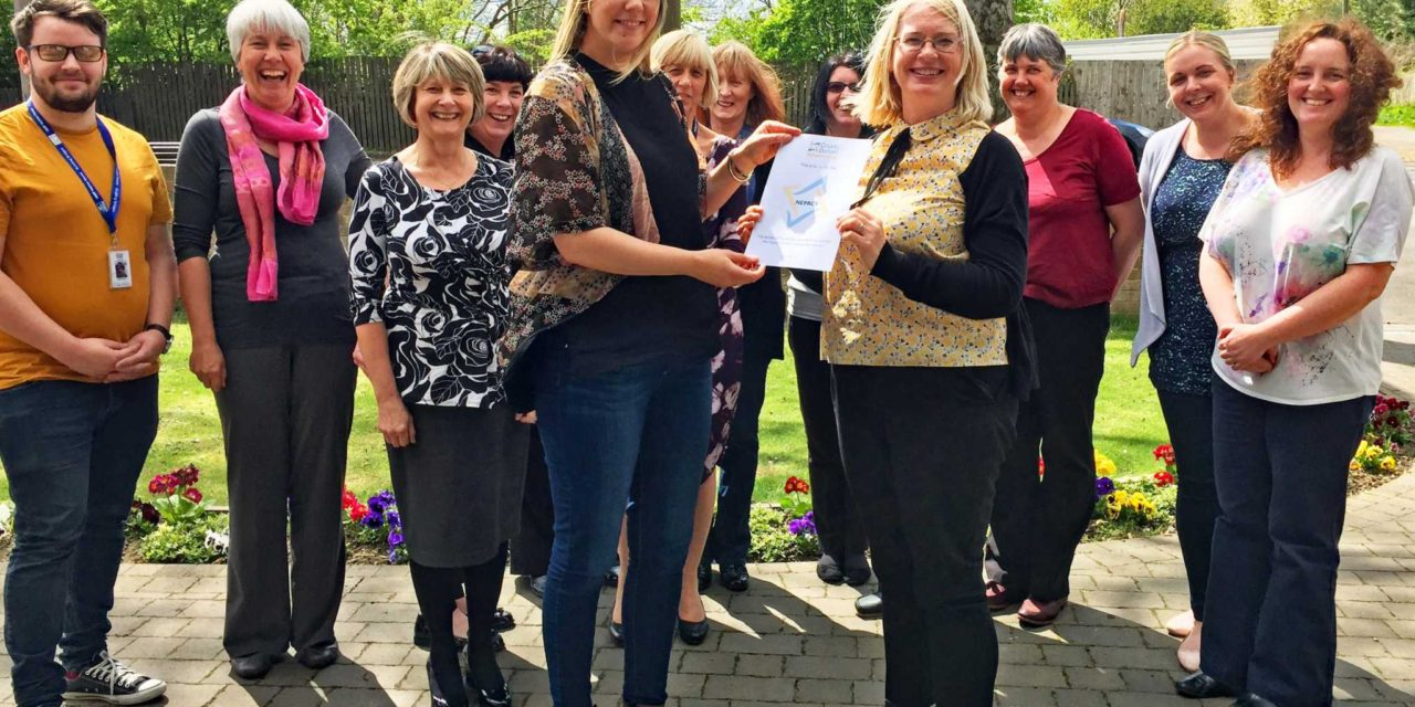 Local charity supporting prisoners' families receives volunteering award