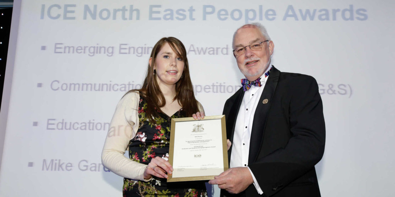 'Emerging engineer' Beth in the running for global prize
