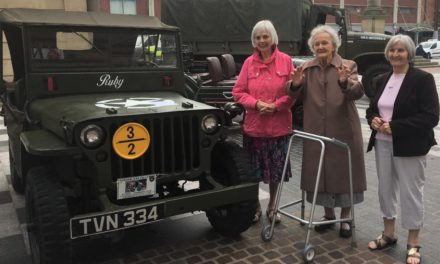 Stockton care home residents enjoy Armed Forces Day