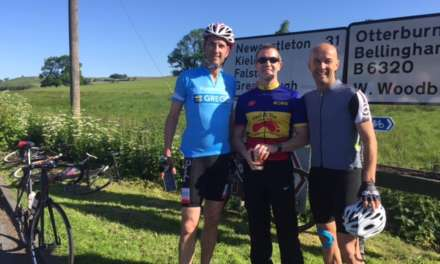 Cyclists put wheels in motion to fundraise for children's charity