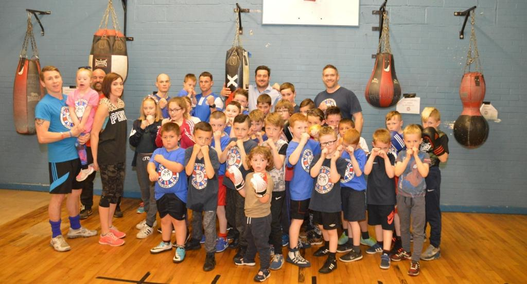 Brandon Boxers Knocked Out by £5,000 Banks Group Equipment Grant