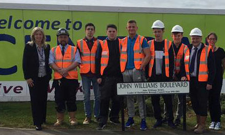 College joins house builder in project to inspire next generation