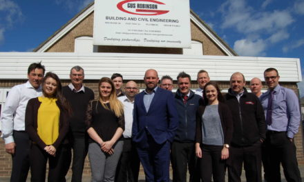 Gus Robinson Developments celebrates £9m contract wins