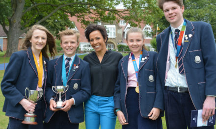 An Inspirational Lesson from Dame Kelly Holmes