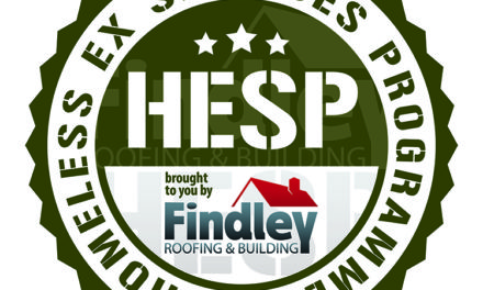 Findley launches training scheme to help homeless ex-servicemen build roofs over their heads