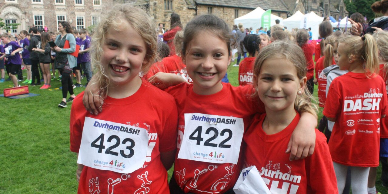 Record number of County Durham schoolchildren prepare for Dash! finals