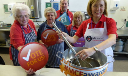After the election, Freemason's charity urge public to vote for People's Kitchen