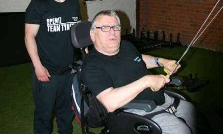 Disabled man ready to push himself to new limits with fitness challenge