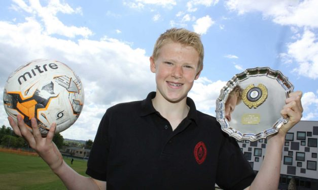 Young footballer to live Championship dream