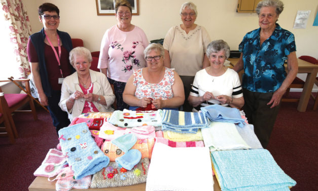 Gateshead residents get knitting