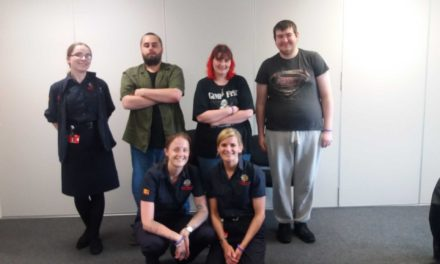 Northumberland Fire and Rescue Service support mental health