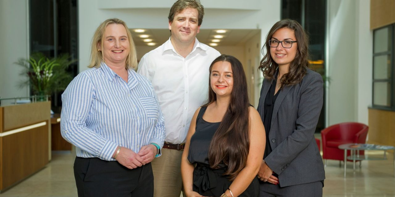 Graduate internship funding from Northumbria helps regional law firms expand