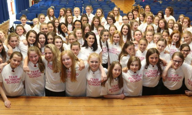 Students line up for race for life