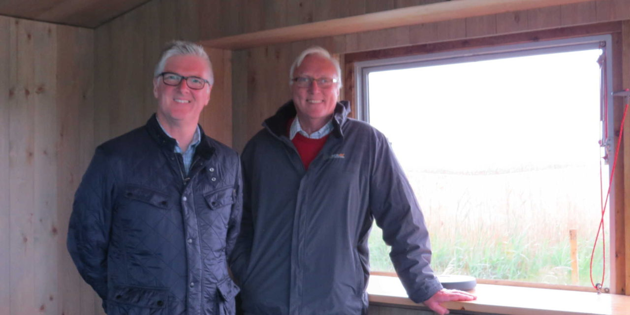 Phase one of major investment complete at RSPB nature reserve