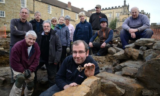 Fascinating medieval finds unearthed by archaeologists and volunteers at Auckland Castle
