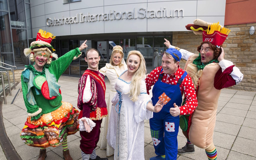Gateshead gears up for panto spectacular!