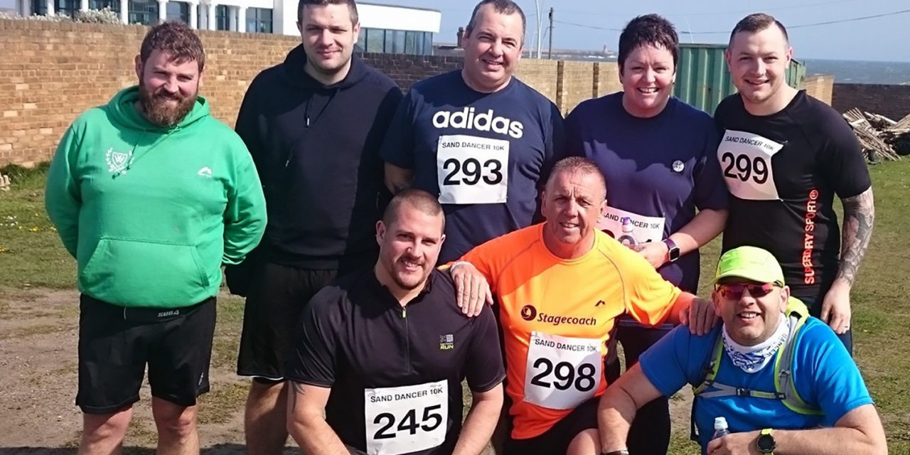 Team Walkergate Tackles Windy South Shields Race for Charity