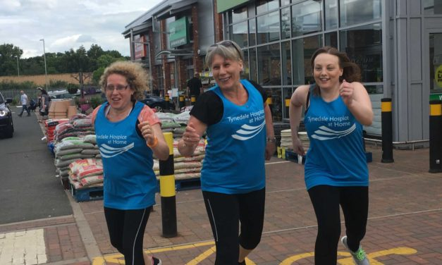 Husband inspires run for Tynedale Hospice at Home