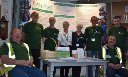 A Big Thank you to Daisy Chain Volunteers who are making a difference to People's Lives
