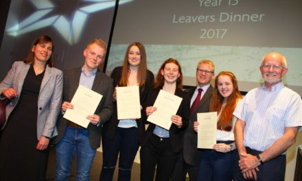 Students recognised before leaving academy