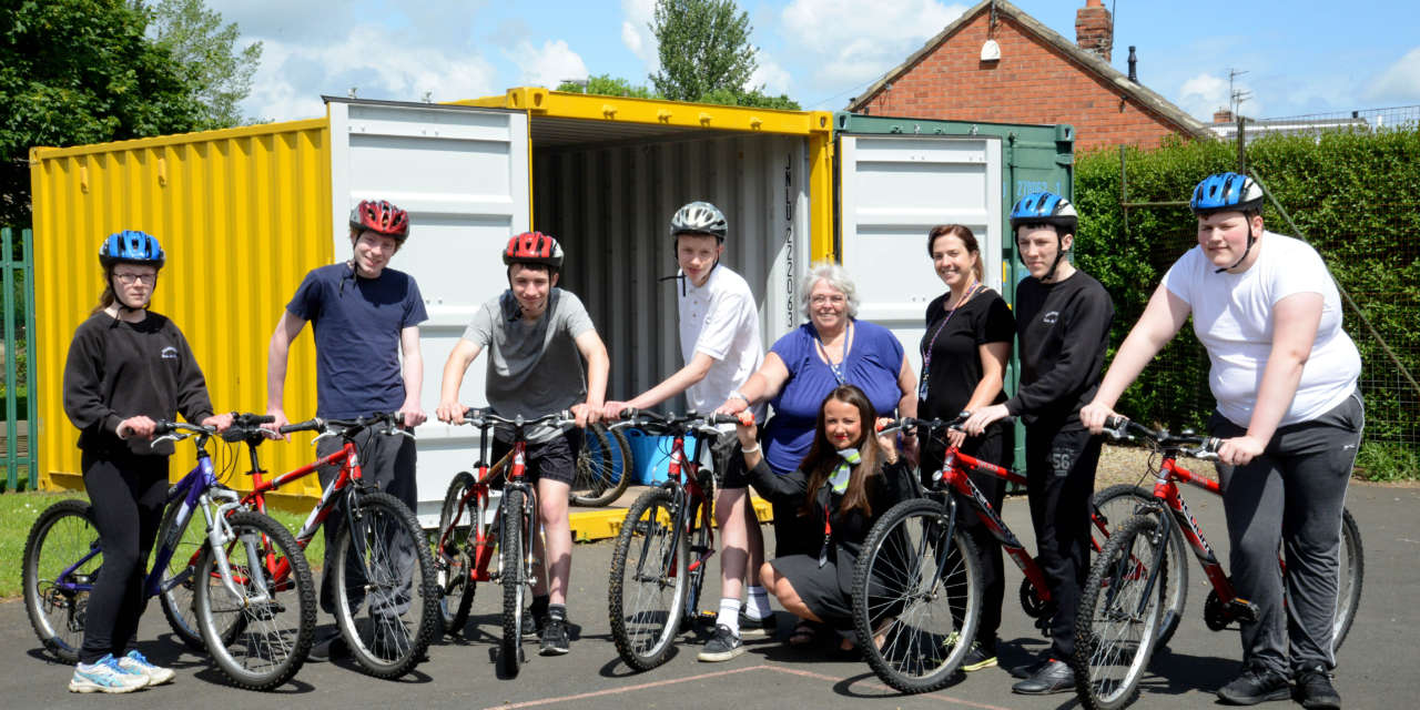 On your bike! Local housebuilder helps Morpeth pupils get cycling this Bike Week