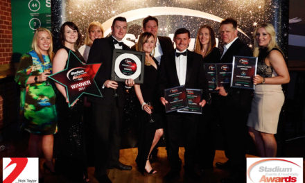 St James' Park staff take gold at industry awards