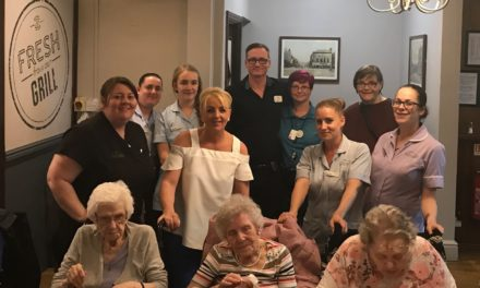 Lunch Club launched by Stockton care home residents