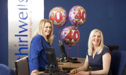 Thirlwells feeling fabulous at 40
