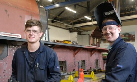 Cleveland Bridge workers to turn their hand to helping build the 'Prince of Wales' locomotive
