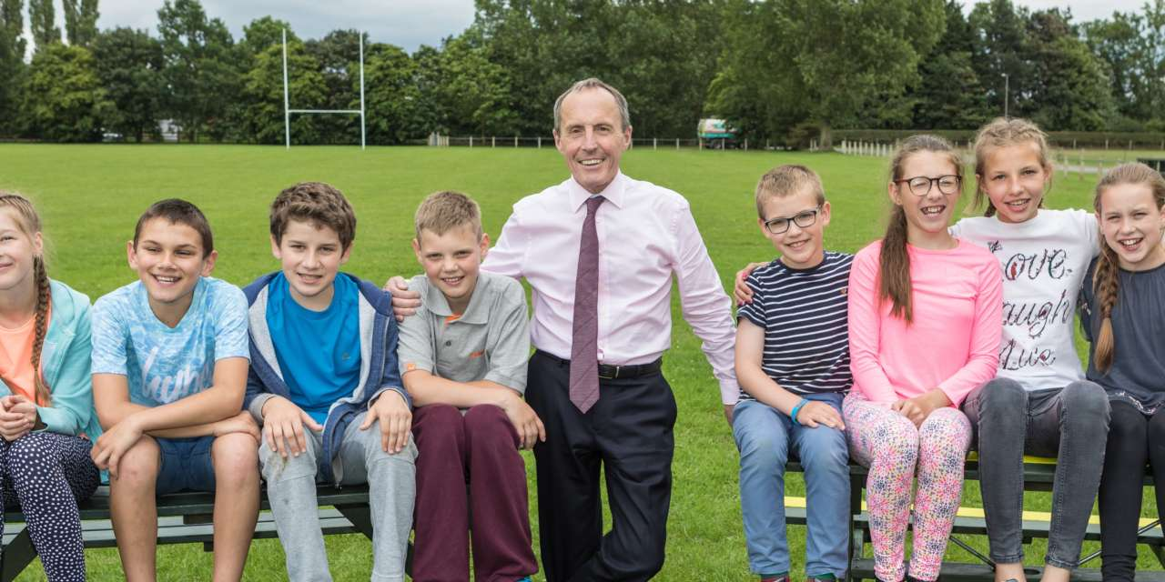 Simon Bailes continues support for Chernobyl children's charity