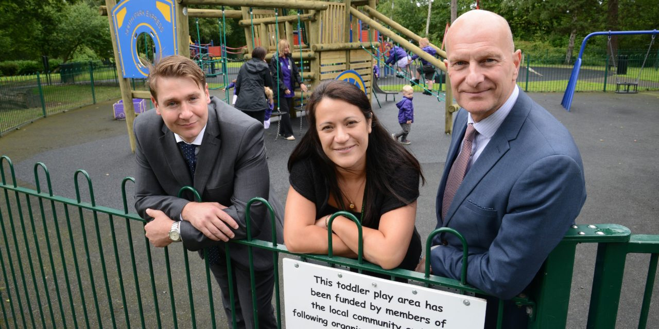 Darlington's South Park's new play area opened after successful fundraising campaign