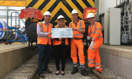 Teesside rail event raises over £6,800 for local charities