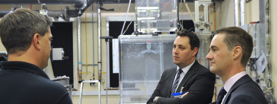 Tees Valley Mayor tours Materials Processing Institute