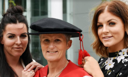 Family celebrate nursing link at Teesside graduation